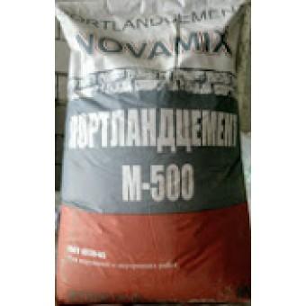 """Цемент М- 500 (50кг)  """"Новамикс"""""""