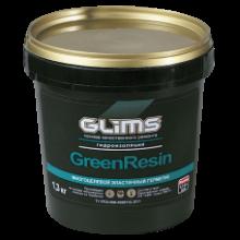 """GLIMS"" Эластичный герметик Green Rezin, 1,3 кг"