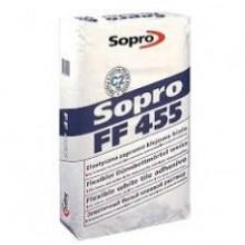 Белый эластичный клеевой раствор Sopro FF 455