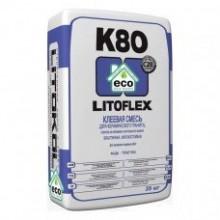 Клей Литокол К 80 (Litokol Litoflex), 25 кг