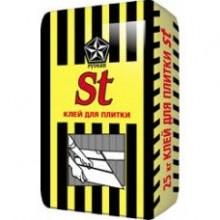 Клей влагостойкий ST для плитки (25 кг)