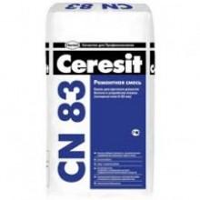 """Смесь для быстрого ремонта бетона, стяжек 5-35 мм СN 83 (25кг.) """"Ceresit"""""""
