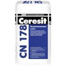 """Легковыравнивающаяся стяжка (5-80 мм), для внутренних и наружных работ CN 178 (25кг.) """"Ceresit"""""""