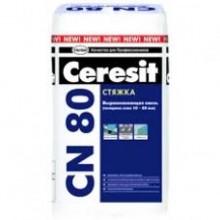 """Выравнивающая стяжка для пола 10-80 мм CN 80 (25кг.) """"Ceresit"""""""