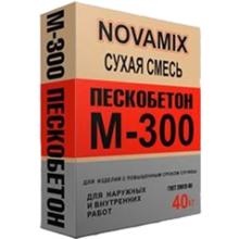 "Пескобетон М-300 ""Novamix """